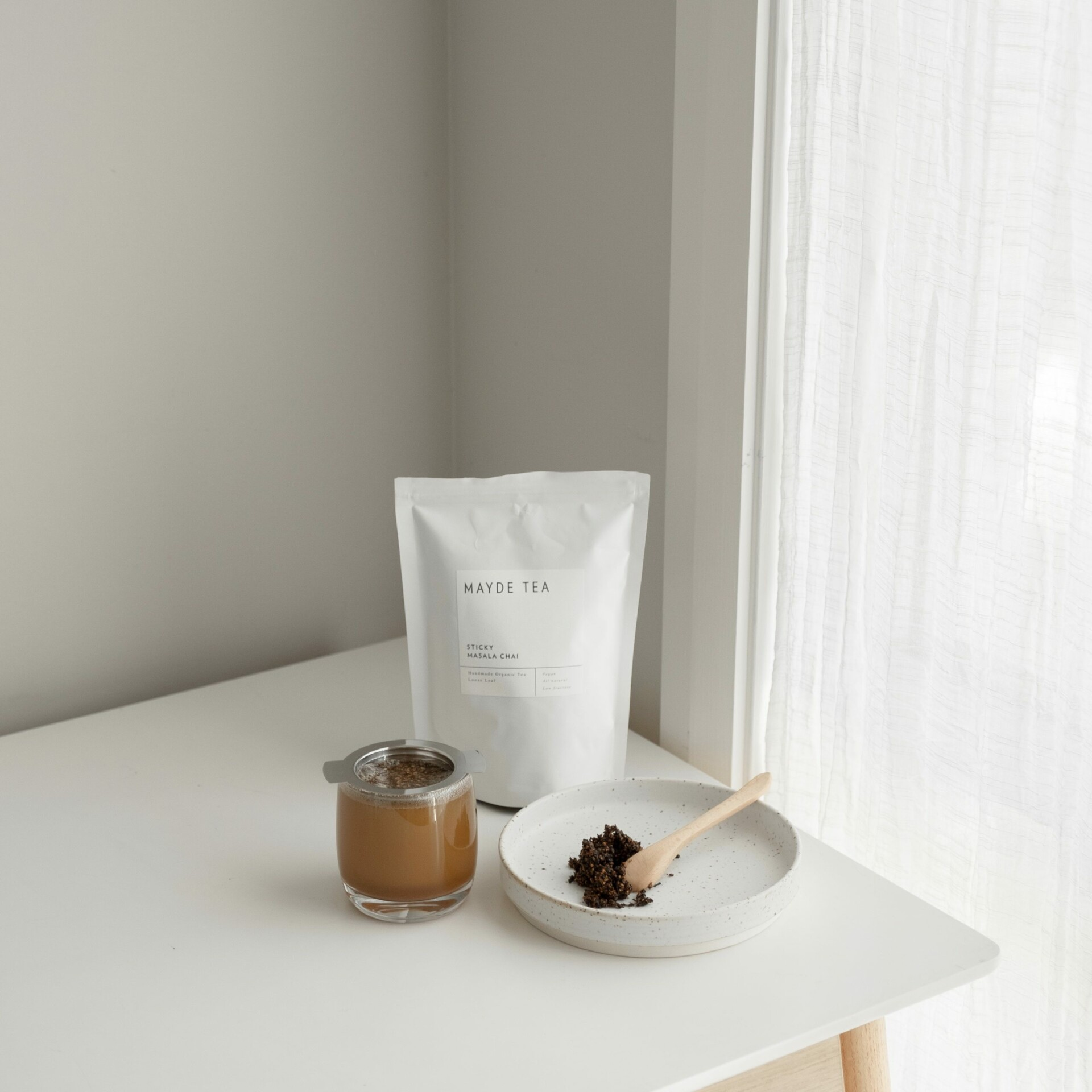 MAYDE TEA – Organic Sticky Masala Chai